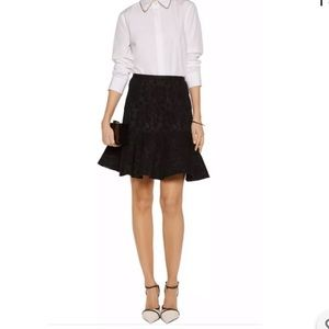 NWT Authentic LANVIN Fluted Lace Skirt - Size 40